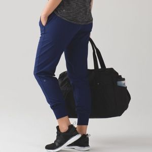 Lululemon Get Ready Jogger (Swift) Hero Blue Sz 10
